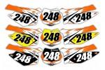 Mega Series KTM Background