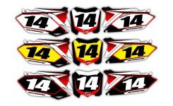 Pixelated Series Honda Background