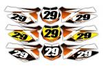 Pixalated Series KTM Background