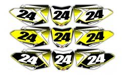 Pixalated Series Suzuki Background