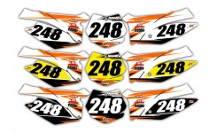 Streak Series KTM Background