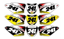 Vector Series Suzuki Background