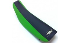 Kawasaki two tone gripper seat cover